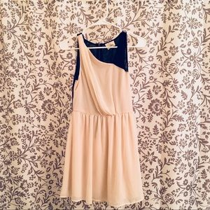 Cream & Black Dress from Urban Outfitters, Size S